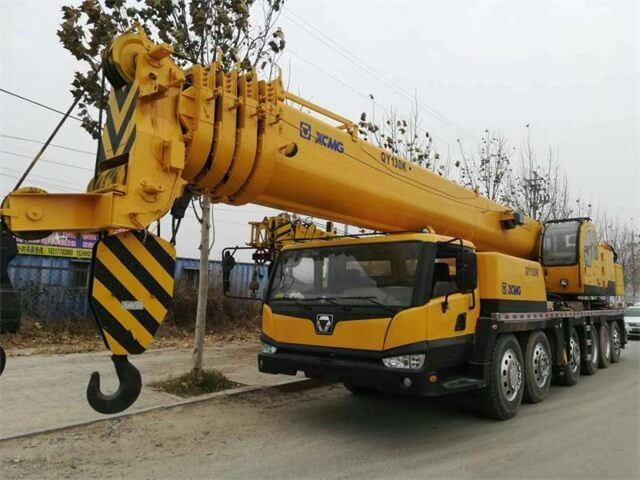 """""""130T USED XCMG Mobile crane"""""""
