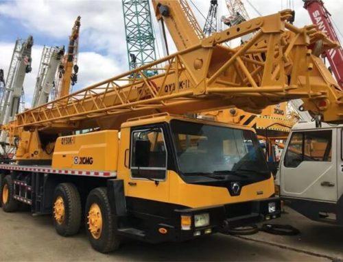 XCMG mobile crane 8