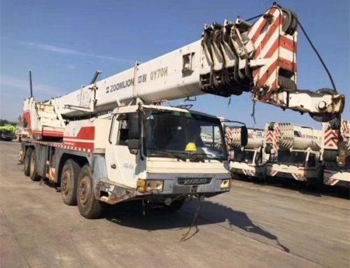 zoomlion mobile crane 9